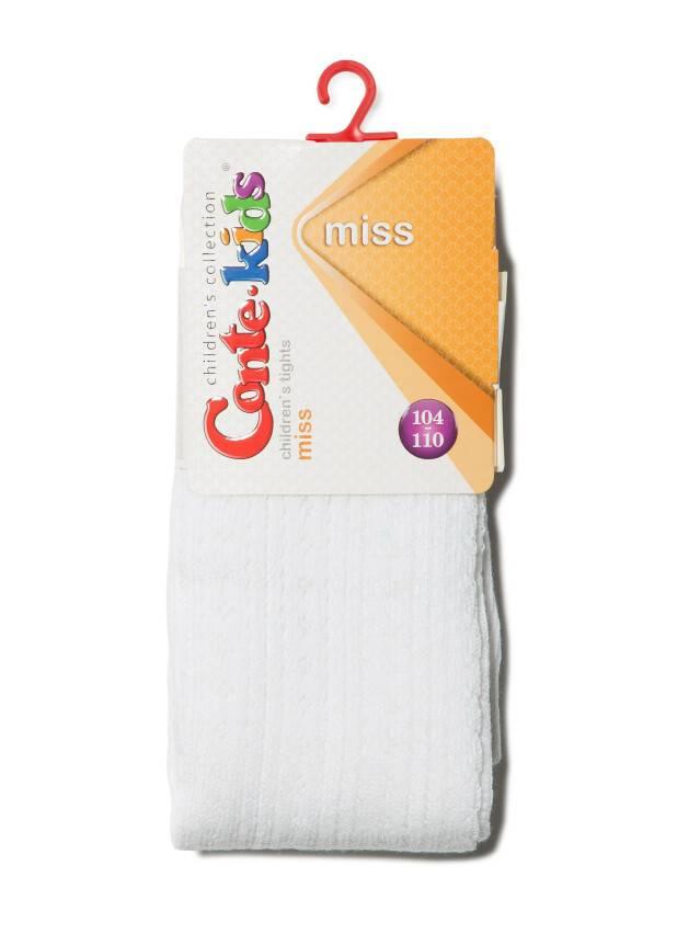 Children's tights CONTE-KIDS MISS, s.104-110 (16),270 white - 2