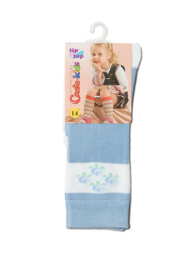Children's knee high socks CONTE-KIDS TIP-TOP, s.14, 014 blue - 2