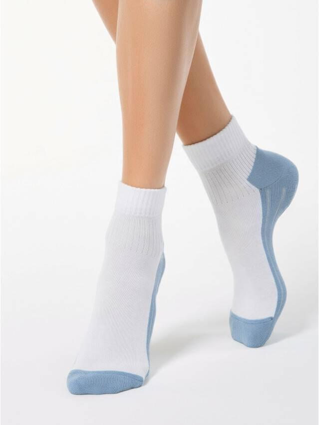 Women's socks CONTE ELEGANT ACTIVE, s.23, 026 white-blue - 1