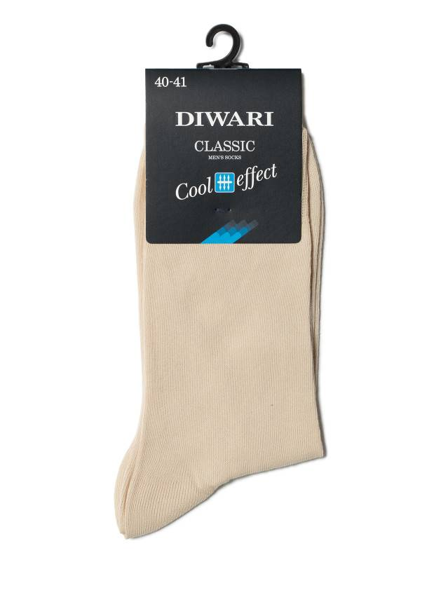 Men's socks DiWaRi CLASSIC COOL EFFECT, s. 40-41, 000 beige - 2