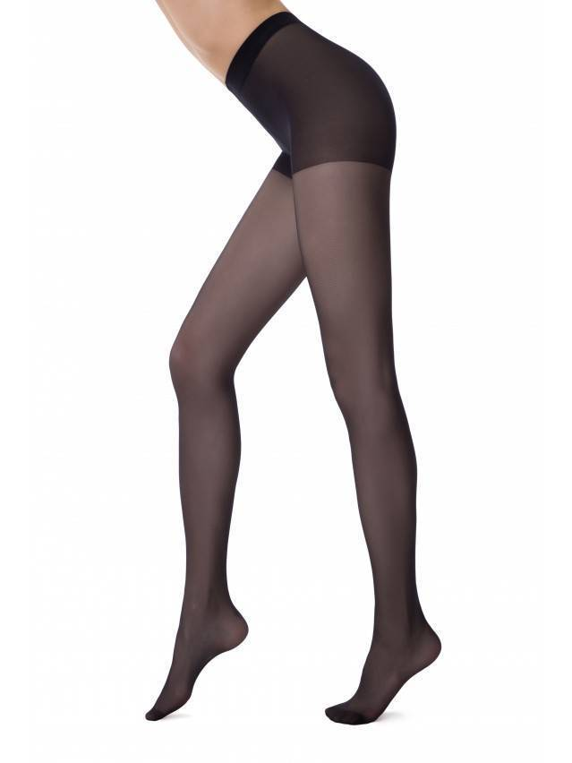 Women's tights CONTE ELEGANT ACTIVE SOFT 20, s.2, nero - 1