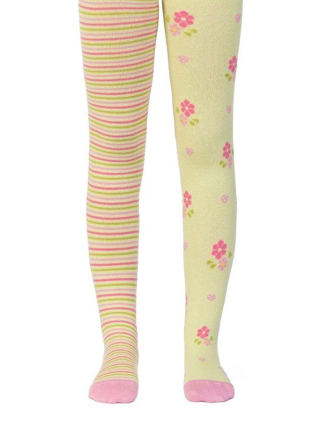 Children's tights CONTE-KIDS TIP-TOP, s.62-74 (12),357 lettuce green - 1