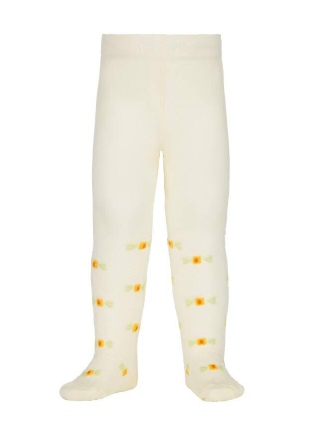 Children's tights CONTE-KIDS BRAVO, s.62-74 (12),216 cream - 1