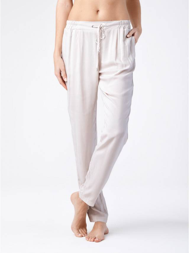 Women's trousers CONTE ELEGANT MONTANA, s.164-64-92, ivory - 1