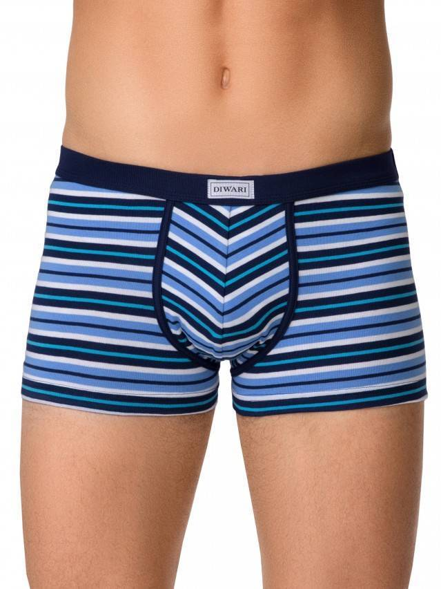 Men's pants DiWaRi BAND SHORTS 358, s.102,106/XL, blue - 1