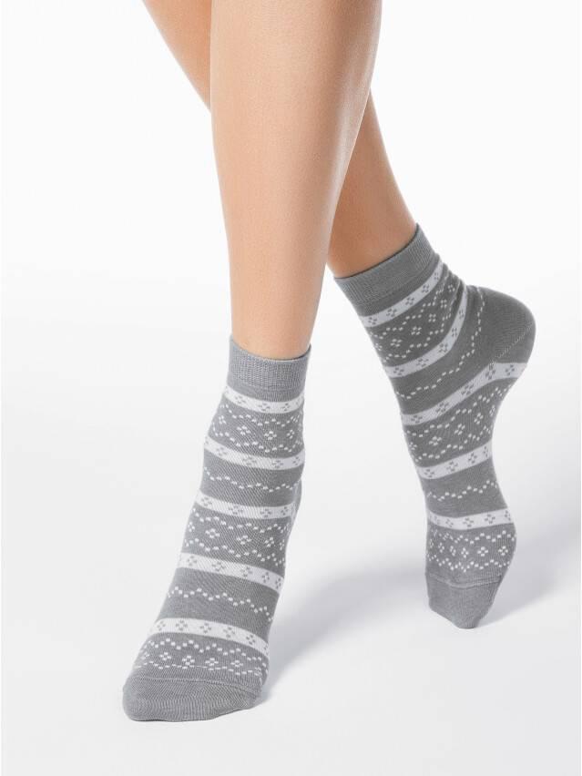 Women's socks CONTE ELEGANT CLASSIC, s.23, 062 grey - 1