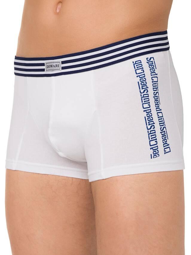 Men's pants DiWaRi TATTOO MSH 406, s.102,106/XL, white - 2