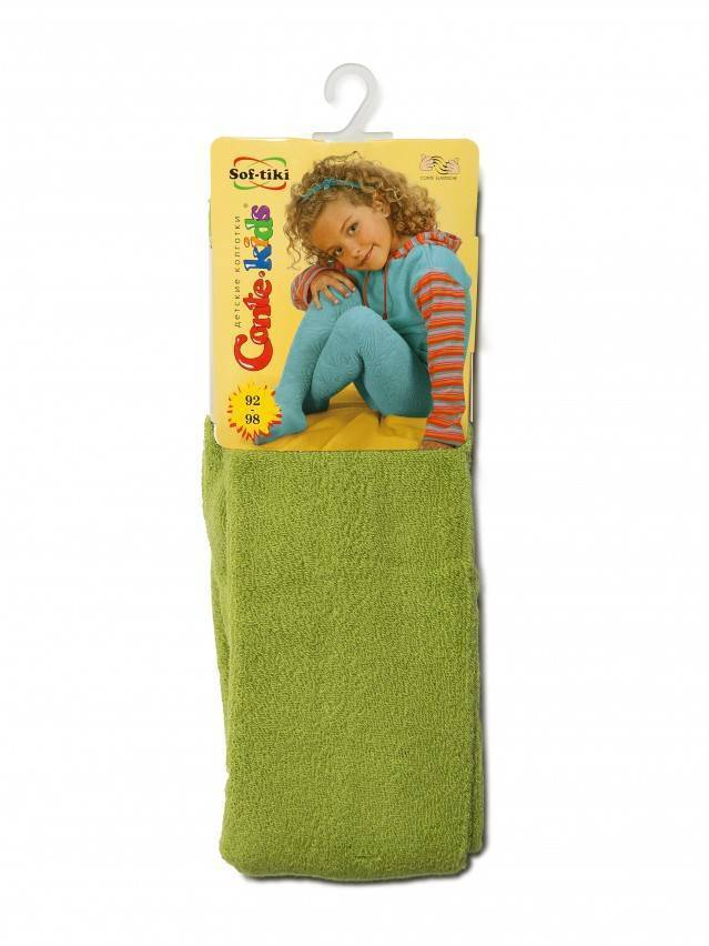 Children's tights CONTE-KIDS SOF-TIKI, s.92-98 (14),253 dark lettuce green - 2
