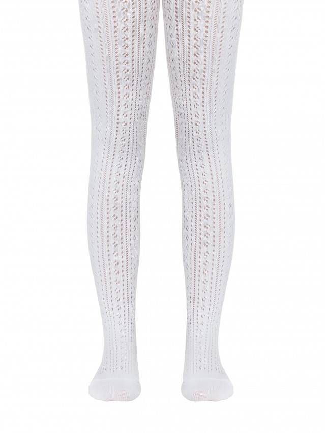 Children's tights CONTE-KIDS MISS, s.104-110 (16),270 white - 1