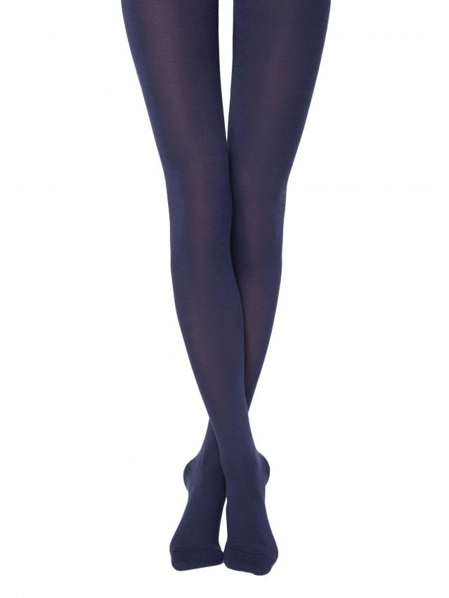 Women's tights CONTE ELEGANT COTTON 250, s.2, marino - 1