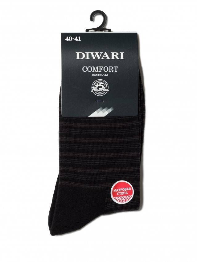 Men's socks DiWaRi COMFORT, s. 40-41, 012 black - 2