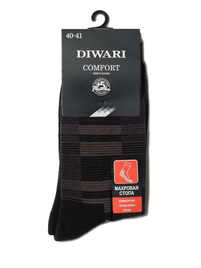 Men's socks DiWaRi COMFORT, s. 40-41, 013 black - 2