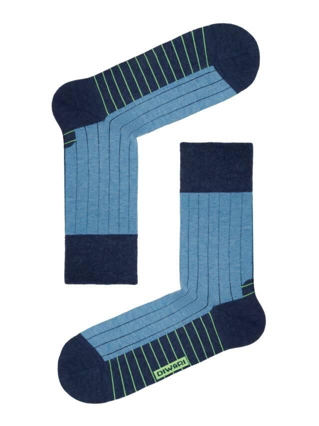 Men's socks DiWaRi HAPPY, s. 40-41, 048 navy-blue - 1