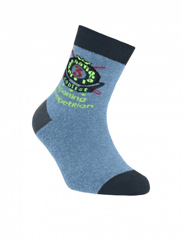 Children's socks CONTE-KIDS TIP-TOP, s.24, 205 denim - 1