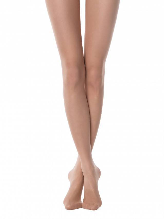 Women's tights CONTE ELEGANT TOP SOFT 20, s.2, natural - 1