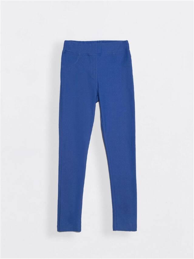 Leggings for girls CONTE ELEGANT ALBA, s.122,128-64, blue - 1