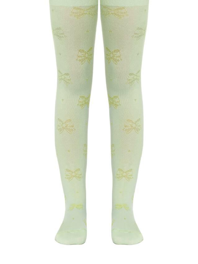 Children's tights CONTE-KIDS BRAVO, s.104-110 (16),370 lettuce green - 1