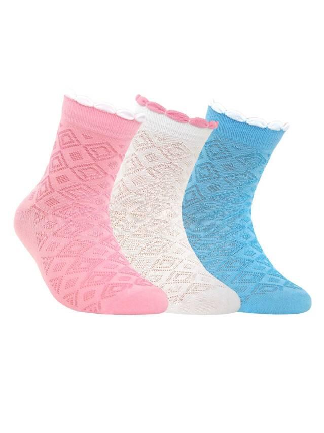 Children's socks CONTE-KIDS TIP-TOP, s.18, 144 white - 1