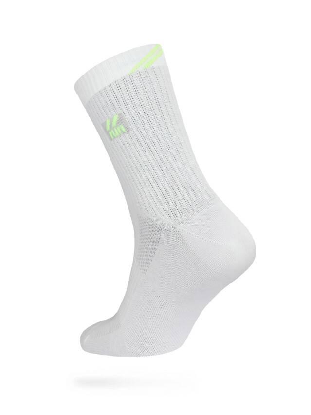 Men's socks DiWaRi ACTIVE, s. 40-41, 024 white-lettuce green - 1