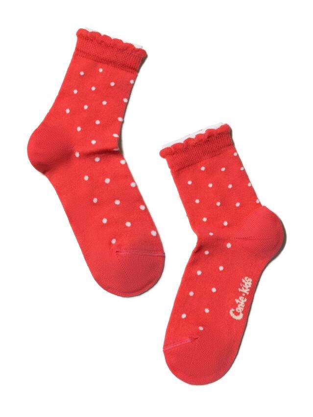 Children's socks CONTE-KIDS TIP-TOP (2 pairs),s.12, 705 white-red - 3