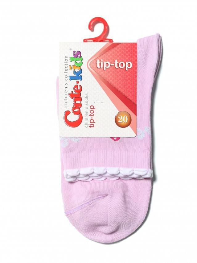 Children's socks CONTE-KIDS TIP-TOP, s.20, 250 light pink - 2