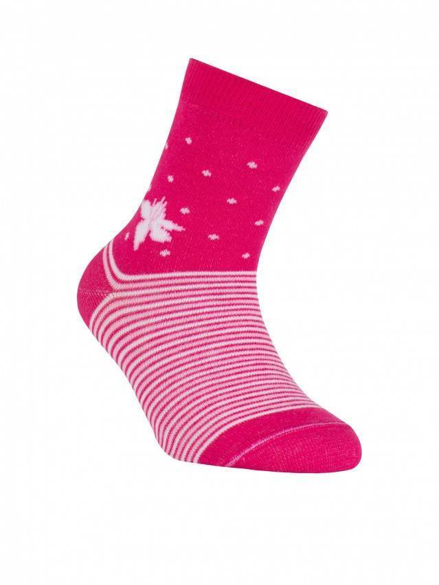 Children's socks CONTE-KIDS TIP-TOP, s.16, 254 fuchsia - 1
