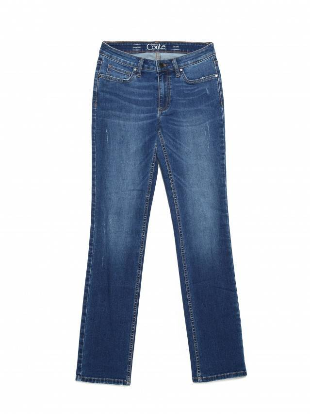 Denim trousers CONTE ELEGANT CON-152, s.164-98, authentic blue - 3