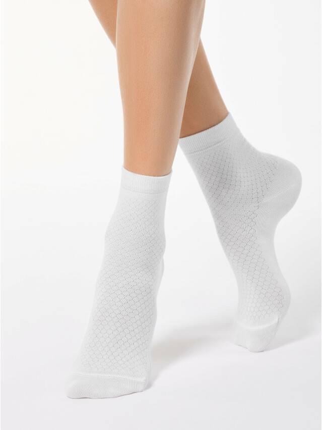 Women's socks CONTE ELEGANT CLASSIC, s.23, 061 white - 1