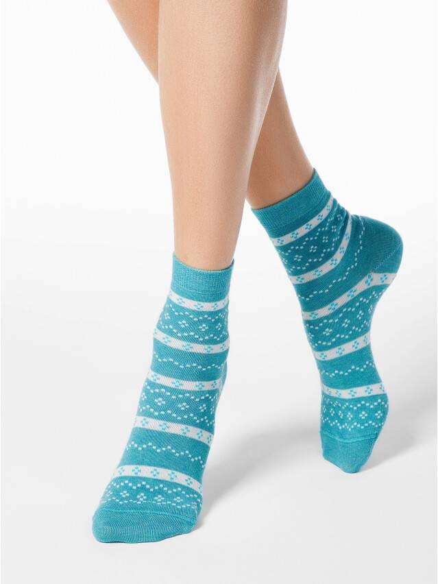 Women's socks CONTE ELEGANT CLASSIC, s.23, 062 turquoise - 1