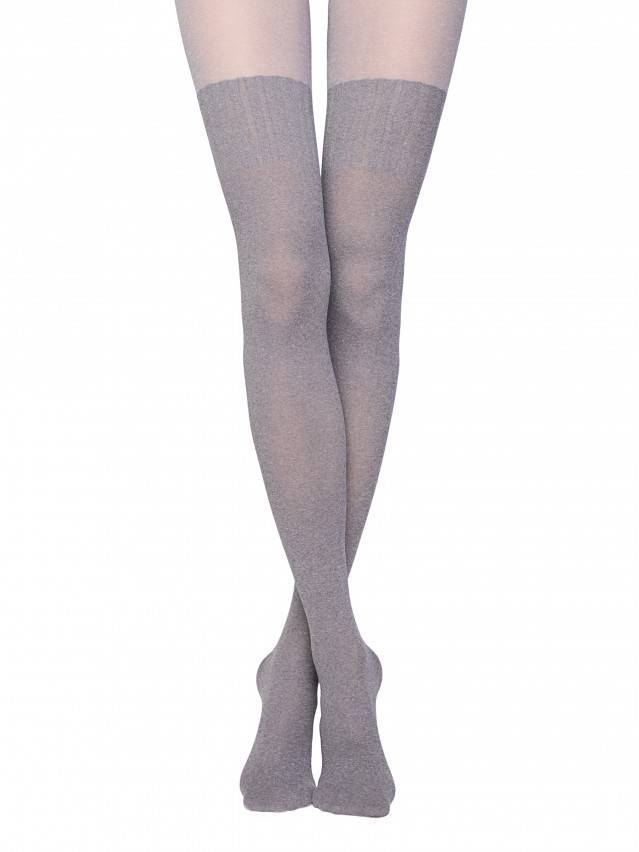 Women's tights CONTE ELEGANT ERICA, s.2, grey - 1