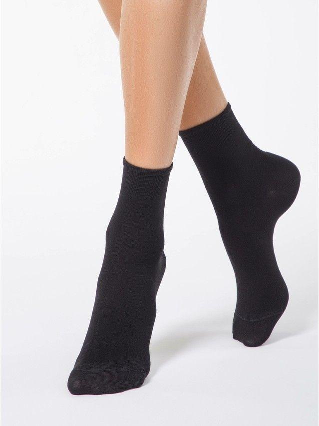 Women's socks CONTE ELEGANT BAMBOO, s.23, 000 black - 1