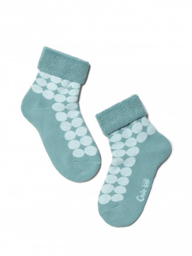 Children's socks CONTE-KIDS SOF-TIKI, s.16, 222 turquoise - 1