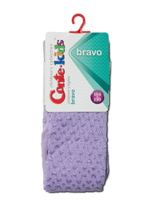 Children's tights CONTE-KIDS BRAVO, s.104-110 (16),371 lilac - 2