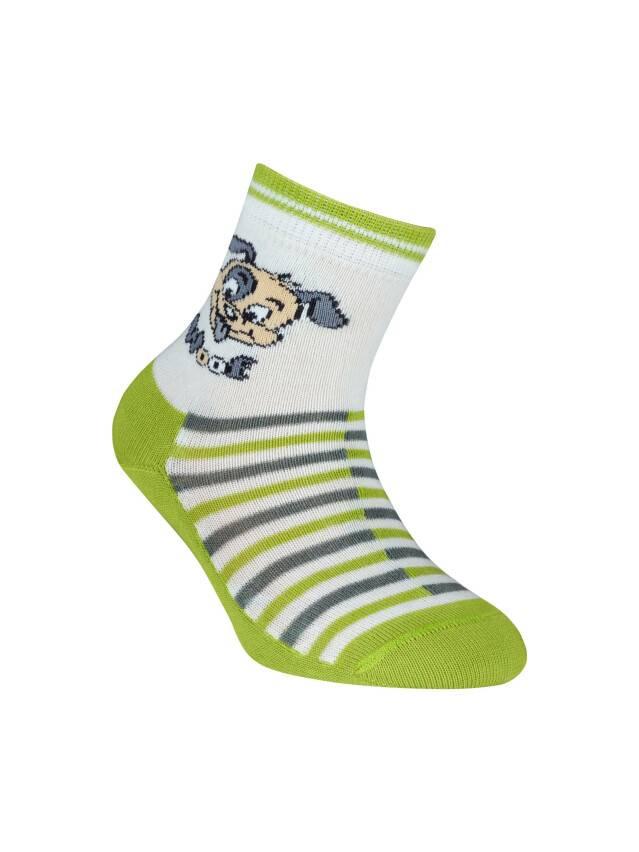 Children's socks CONTE-KIDS TIP-TOP, s.12, 252 dark lettuce green - 1