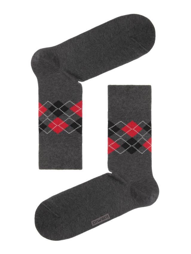 Men's socks DiWaRi COMFORT, s. 40-41, 015 dark grey - 1
