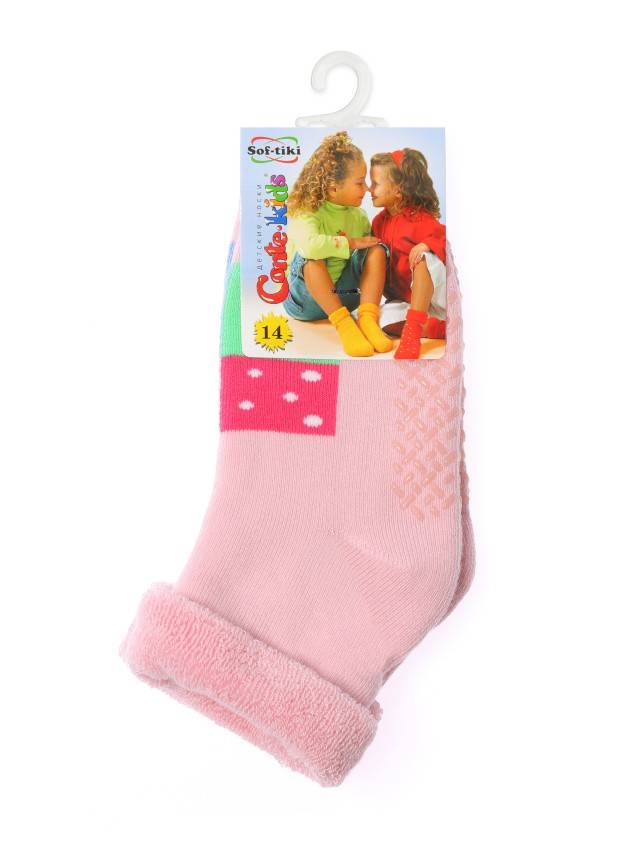 Children's socks CONTE-KIDS SOF-TIKI, s.12, 104 light pink - 2