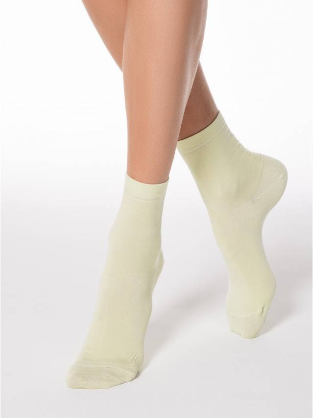Women's socks CONTE ELEGANT CLASSIC, s.23, 000 cream - 1