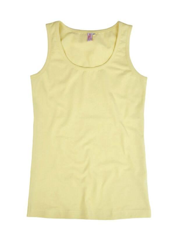 Women's polo neck shirt CONTE ELEGANT LD 526, s.158,164-100, yellow - 1