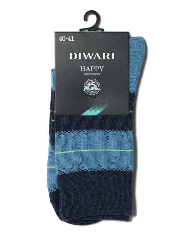 Men's socks DiWaRi HAPPY, s. 40-41, 047 navy-blue - 2
