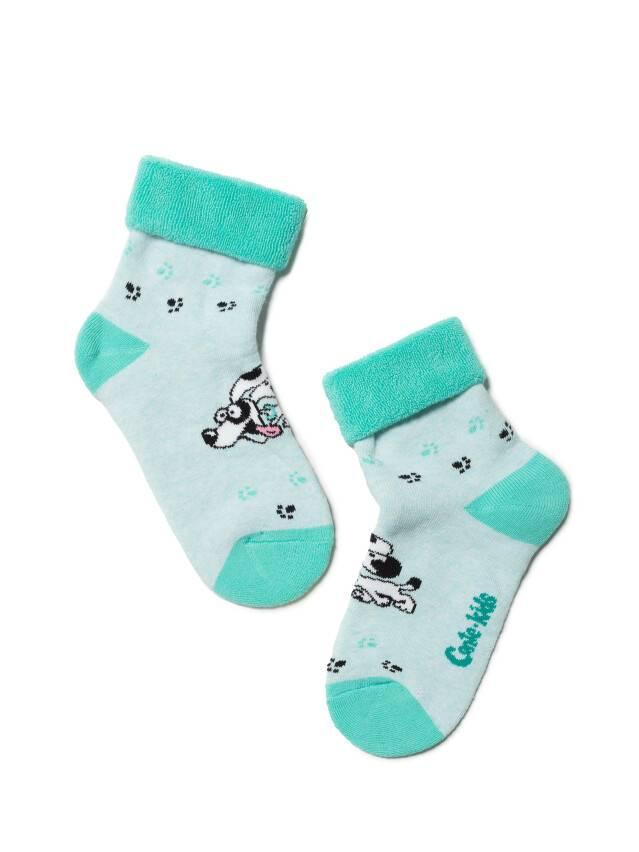 Children's socks CONTE-KIDS SOF-TIKI, s.16, 223 pale turquoise - 1