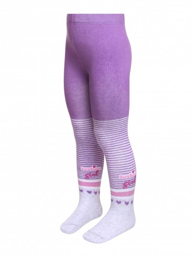 Children's tights CONTE-KIDS TIP-TOP, s.104-110 (16),400 lilac - 1