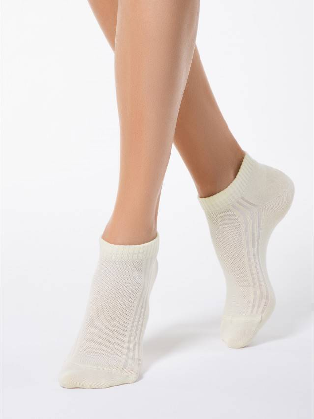Women's socks CONTE ELEGANT CLASSIC, s.23, 016 cream - 1