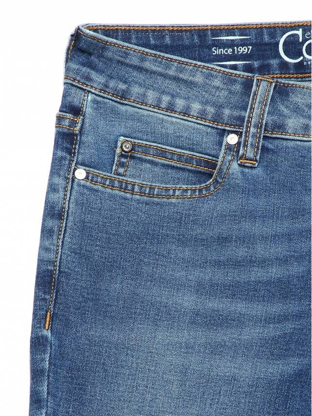 Denim trousers CONTE ELEGANT CON-182, s.170-102, authentic blue - 7