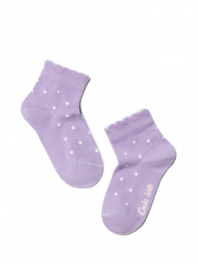 Children's socks CONTE-KIDS TIP-TOP (2 pairs),s.12, 705 white-lilac - 2