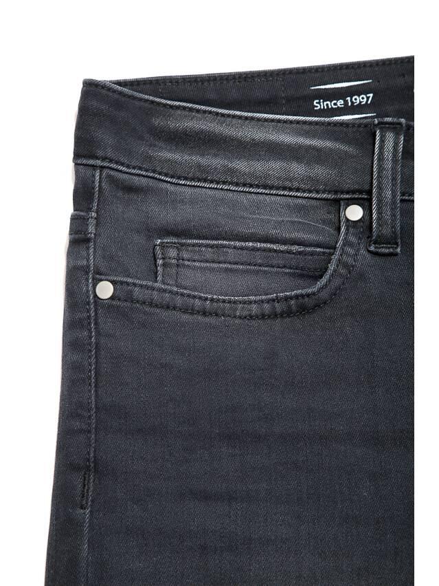 Denim trousers CONTE ELEGANT CON-97, s.170-102, black - 5