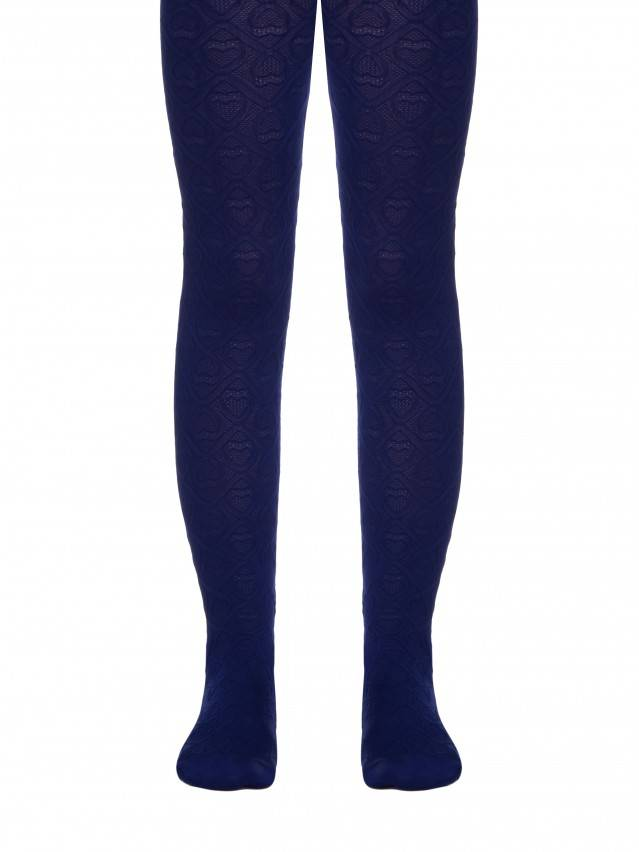 Fancy children's tights CONTE ELEGANT EVA, s.104-110, marino - 1