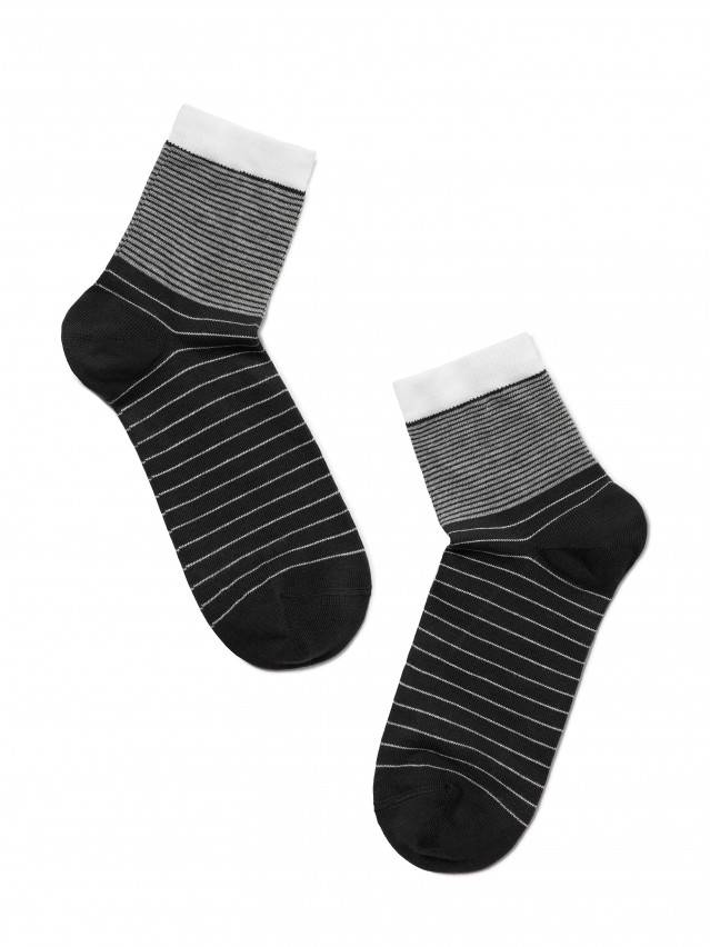 Women's socks CONTE ELEGANT CLASSIC, s.23, 058 black - 2