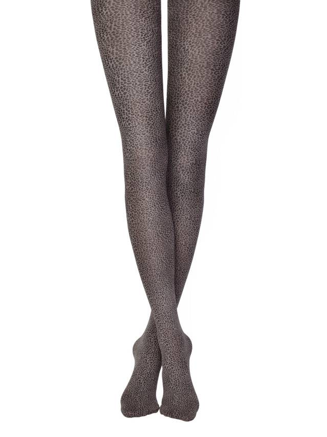Women's tights CONTE ELEGANT LEOPARDO, s.2, fumo - 1