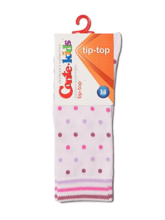 Children's knee high socks CONTE-KIDS TIP-TOP, s.14, 035 light pink - 2