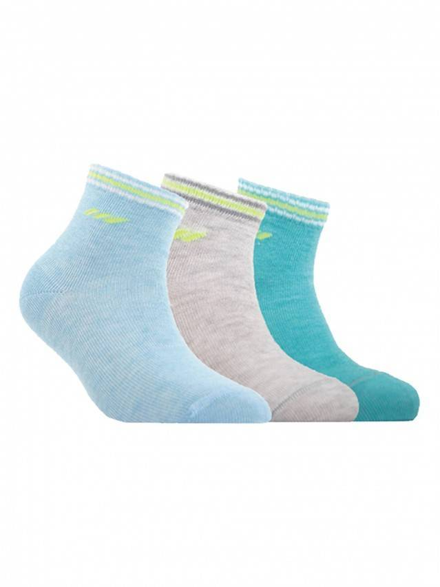 Children's socks CONTE-KIDS ACTIVE, s.14, 133 turquoise - 1